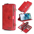 SamSung S21翻蓋手機套 插卡三星S21翻蓋保護殼 錢包款Galaxy S21+保護套 多功能皮套三星S21 Ultra手機殼