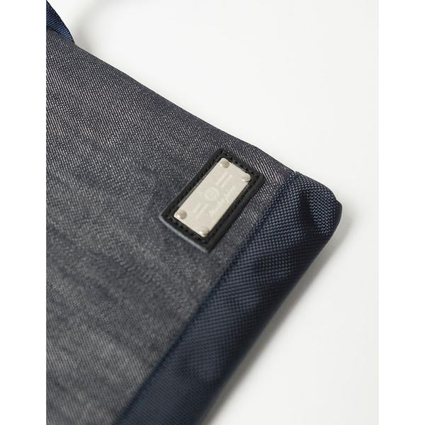 MSPC(master-piece) EVER-V2 No.24254-V2 [日本單寧拼接皮革側背包-深藍色]