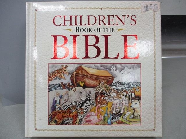 【書寶二手書T4/兒童文學_XCG】Children s Book of the Bible