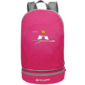 【PUSH! 戶外登山旅遊用品】登山背包騎行包旅行包萬用旅行袋U30-2玫色
