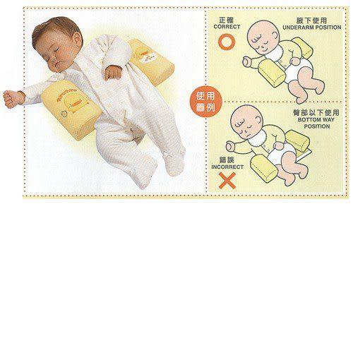 【奇買親子購物網】黃色小鴨 PiYO PiYO 嬰兒安全側睡枕(藍/粉/黃)