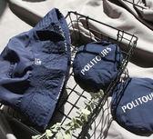 《花花創意会社》外流。減齡日系深藍可折疊漁夫帽 【H5768】