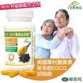 【赫而司】CA-200V二代專利薑黃益多酚植物膠囊(90顆/罐)薑黃素+EGCG