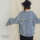 現貨◆PUFII-外套 男友風背口袋牛仔外套-0305 春【CP18087】