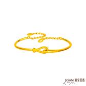 J'code真愛密碼 緊扣最愛黃金手環