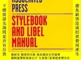 二手書博民逛書店Associated罕見Press Stylebook And Libel Manual: Sixth Trade