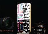 ♥ 俏魔女美人館 ♥【金屬邊框*彩色字體】SAMSUNG note3 Neo 手機殼 手機套 保護殼