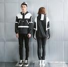 韓國 帽T 黑白 極簡 男女 男孩風格 穿搭外套