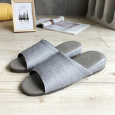 【iSlippers】極致風格-厚跟紓壓皮質室內拖鞋-多色任選迷霧灰XL
