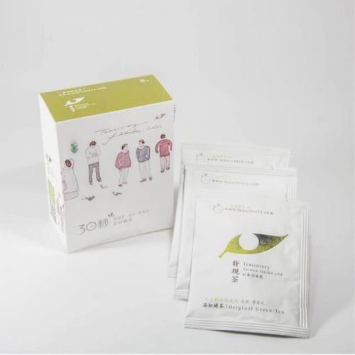 Teascovery發現茶~30秒冷泡茶-品初綠茶8入口碑款