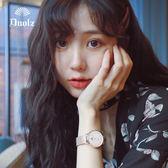 手錶 女士學生韓版簡約時尚潮流防水休閒大氣石英女錶抖音網紅同款 3色