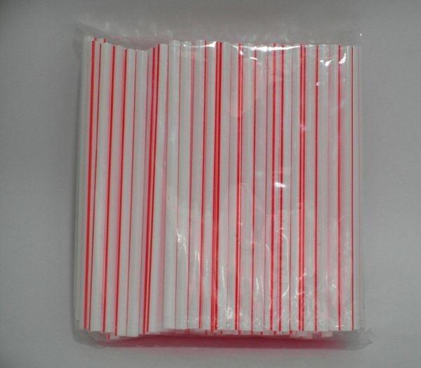 條紋吸管 (15.5cm, 125支/包)