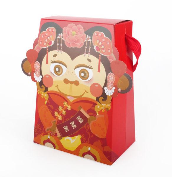 ❤絕版搶購❤{{猴猴美}一斤手提糖果盒(50入/組) 新年禮盒 牛軋糖 喜糖 糖果 玩具盒 禮品 婚禮贈品