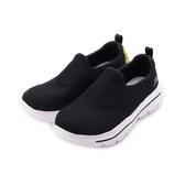 SKECHERS GO WALK EVOLUTION ULTRA 套式休閒鞋 黑白 54730BLK 男鞋