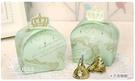 幸福朵朵 【皇冠燙金喜糖盒(需DIY)】 創意喜糖盒 禮品糖果餅乾包裝盒 包裝材料 二次進場