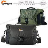 《飛翔3C》LOWEPRO 羅普 Nova 200 AW II 諾瓦 二代 側背相機包│公司貨│斜背單眼包 肩背攝影包