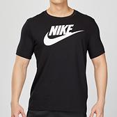 Nike ICON 男子 黑色 經典 基本款 棉質短袖 休閒 T恤 AR5005-010