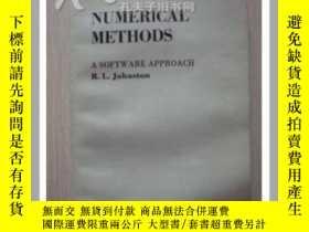 二手書博民逛書店數值方法罕見軟件處理 英文版7815 R.L.Johnston