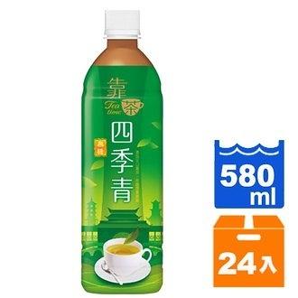 波蜜靠茶四季青茶580ml(24入)/箱【康鄰超市】