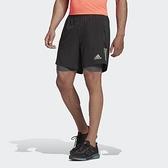Adidas 男款 黑色 專業慢跑 運動 短褲 FS9809 【KAORACER】
