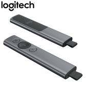 Logitech 羅技 Spotlight 簡報遙控器 質感灰