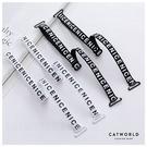 Catworld 英文字可調節內衣肩帶【18003301】‧F