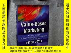二手書博民逛書店Value-based罕見Marketing:Marketing