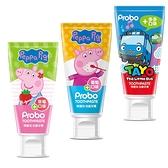 博寶兒 兒童牙膏 80g 佩佩豬 TAYO 防蛀 含氟牙膏 7304 葡萄 草莓 多多