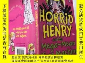二手書博民逛書店horrid罕見henry and the mega mean time machine: 可怕的亨利和 超級平