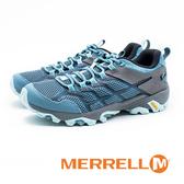 MERRELL MOAB FST 2 GORE-TEX 郊山健行鞋 女鞋 - 藍