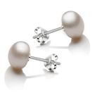 飾品 s925珍珠銀耳釘女...