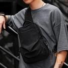 胸包男士戶外斜背包時尚潮流大容量側背肩背包【橘社小鎮】