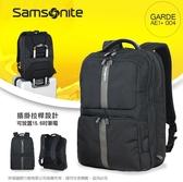 《熊熊先生》新秀麗Samsonite超大容量15.6吋筆電雙肩包GARDE可加大可插掛拉桿後背包休閒包AE1*004