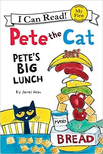 (An I Can Read系列 My First ) PETE THE CAT: PETE'S BIG LUNCH /讀本