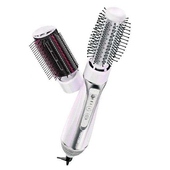 TESCOM 自動電壓髮梳式吹風機 造型梳 捲髮