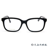 GUCCI 眼鏡 GG0331OA 004 (黑) 全框 亮片絢彩系 近視眼鏡 久必大眼鏡