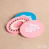 乳牙盒 男女寶寶牙齒換牙保存盒木制兒童牙屋乳牙罐嬰兒紀念品 FR13572『男人範』