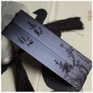 訂做創意中國風檀木紅木書簽套裝訂製刻字木質復古風禮物古典流蘇   【全館免運】
