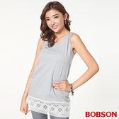 BOBSON女款長版花邊背心(26073-82)
