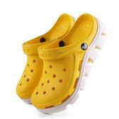 男鞋洞洞鞋女鞋卡洛馳運動動力沙灘涼拖鞋cross男 米蘭街頭