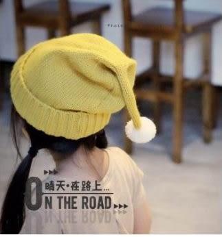 預購-秋冬新款兒童豆丁毛線帽 卷邊寶寶潮針織帽聖誕帽