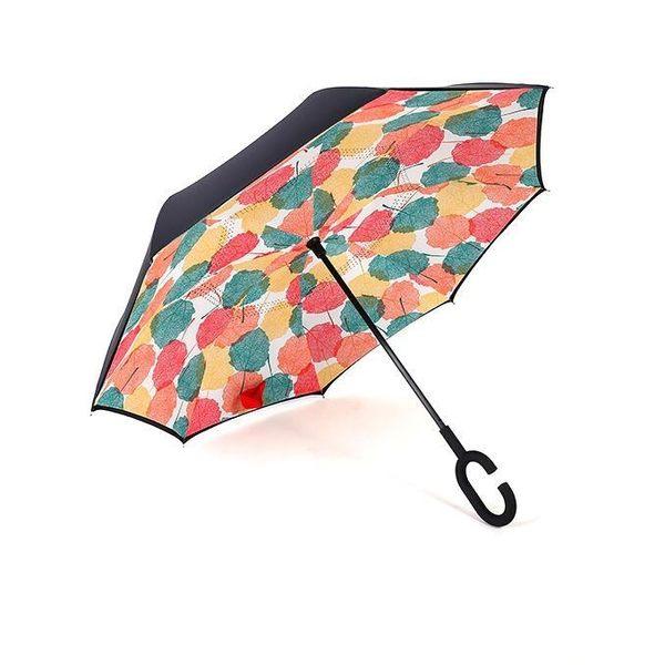 雨傘 反向傘男女免持式雨傘雙層大傘(YS-YS)【轉角1號】