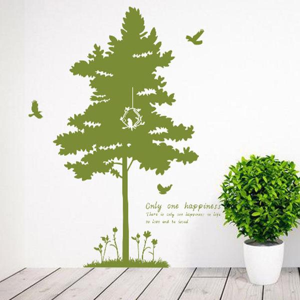 壁貼 大樹 居家裝飾牆壁貼紙《Life Beauty》