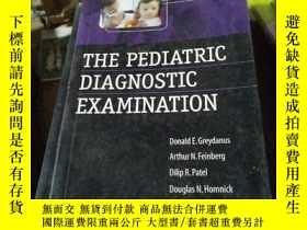 二手書博民逛書店The罕見Pediatric Diagnostic Examin
