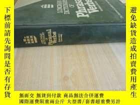 二手書博民逛書店精裝16開罕見厚冊《PhrasaI Verbs》見圖Y27203