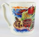 【收藏天地】台灣紀念品*台灣造型握把馬克杯台北篇∕ 生活 辦公室 喝咖啡 創意禮品