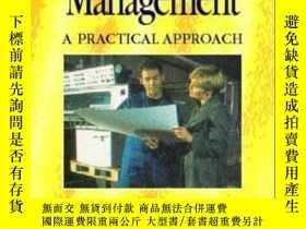 二手書博民逛書店First罕見Management: A Practical Approach-一線管理:一種實用的方法Y43
