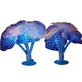 一佳寵物館 仿真吸盤珊瑚擺件海膽海葵珊瑚水中布景魚缸裝飾水族箱造景裝飾品