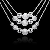 項鍊  吊墜-鍍銀時尚流行生日情人節禮物女飾品73ch1【時尚巴黎】