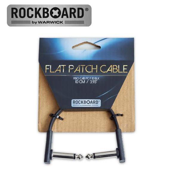 小叮噹的店-德國 Warwick RockBoard 10cm 短導線 RBO CAB PC F 10 BLK